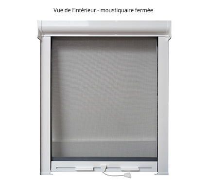 Moustiquaire Enroulable Sur Mesure Fenetre Francemoustiquairefr